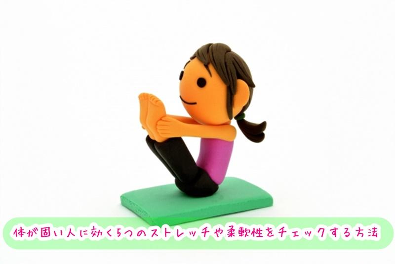 体が固い人に効く5つのストレッチ 柔軟性をチェックする方法