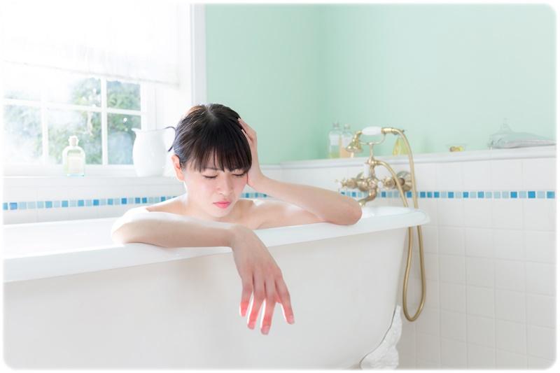 入浴についてのお悩み女性