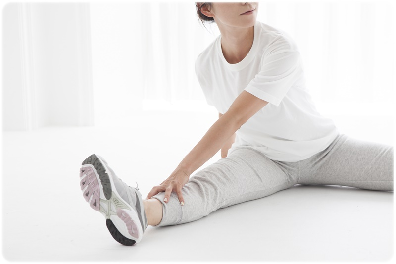 股関節の固さを改善
