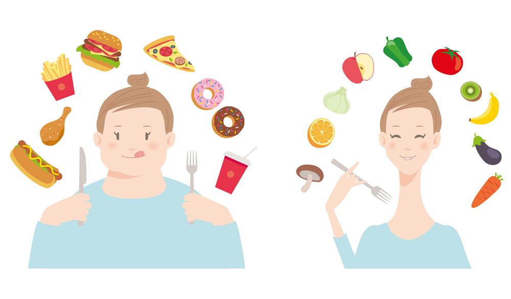 食事内容に気を付ける(肥満・むくみ対策)